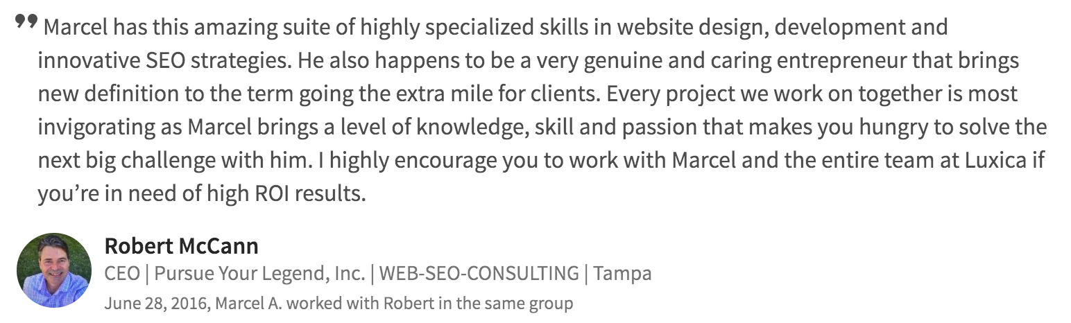 seo web development testimonial 12